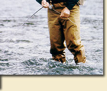 Flyfishing equipment: HRH Fly rods, HRH Fly reels, HRH Fly lines
